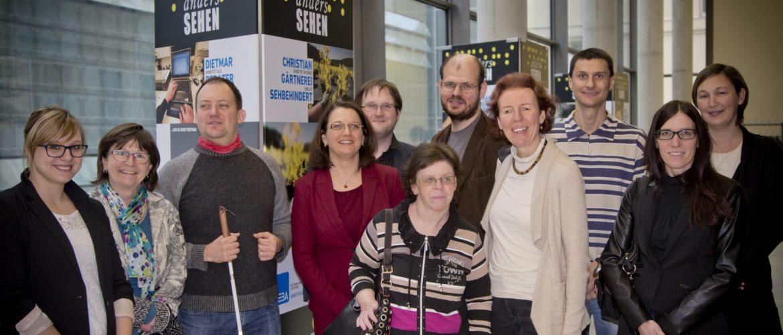 Gruppenfoto: Uniability Mitglieder